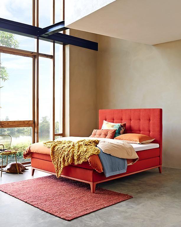 Criade Von Auping In Leuchtendem Rot Bild 29 Luxus Schlafzimmer Design Schlafzimmer Einrichten Haus