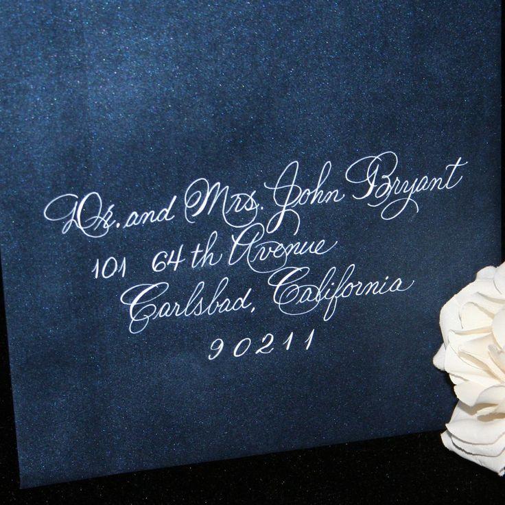 Wedding Calligraphy Envelope Addressing by Hand