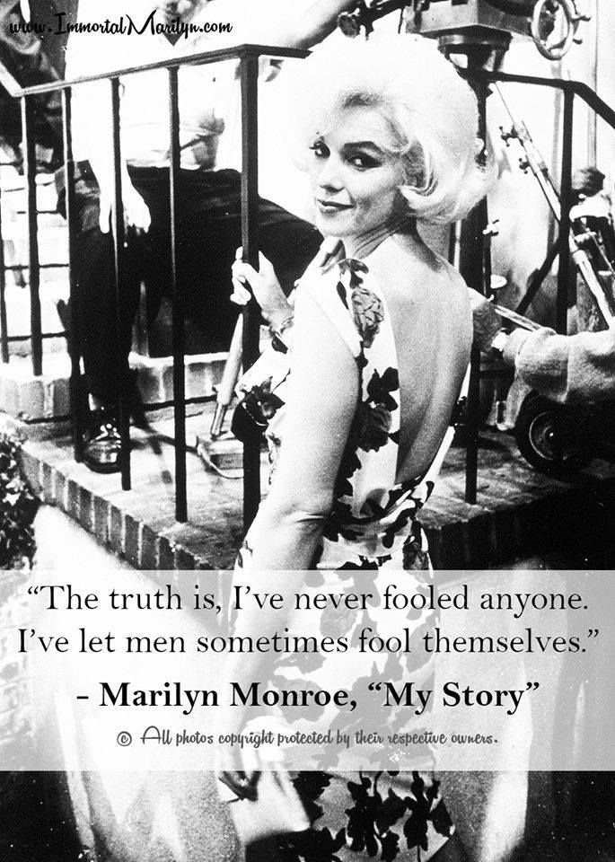 Marilyn Monroe New Years Quotes: 22 Best Images About REAL Marilyn Monroe Quotes On Pinterest