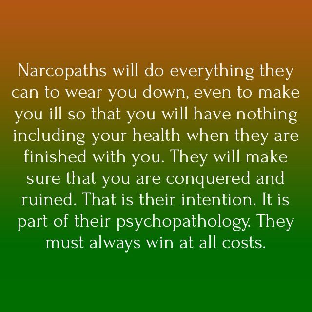I can never emphasize the ruination of all that you are, right down to your health, enough. My Narcissist mother caused me complete and utter physical debilitation and left unchecked she could, and most likely would have, cost me my life. ~ A.L.N. #NoContact #NarcissistMother