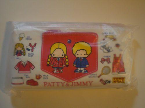 2011 Sanrio Patty and Jimmy Retro Vintage Style Pencil Case Japan   eBay