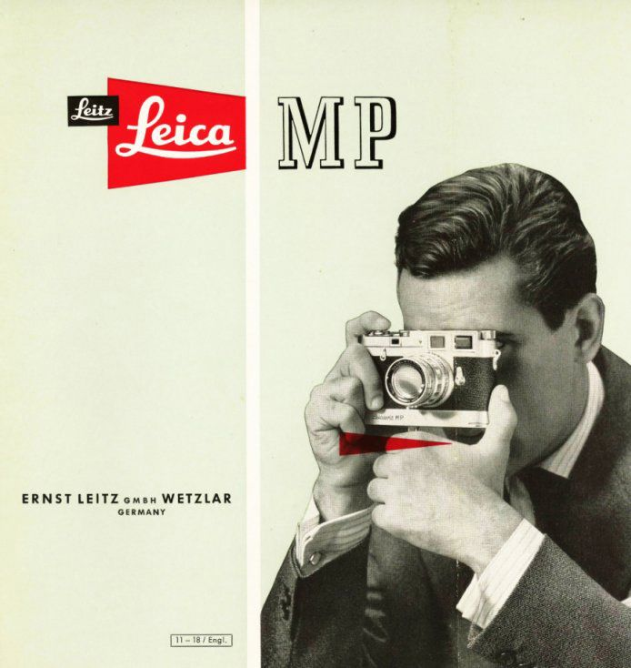 Couverture de brochure #Leica  #photographie