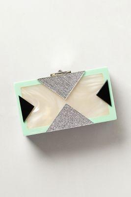 Rafe Mother-of-Pearl Box Clutch #anthrofav #greigedesign