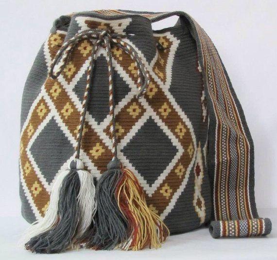 Grey Luxy mochila shoulder bag sac a main  sac a dos  by PavanaFit