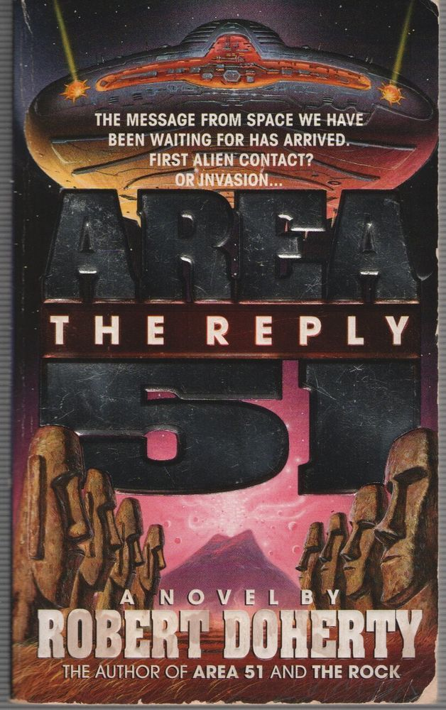 Area 51 : The Reply by Robert Doherty (1998, Paperback)