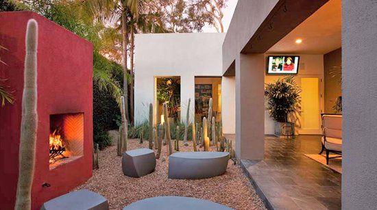 Estilo rustico patios mexicanos jardines estilo - Jardines rusticos ...