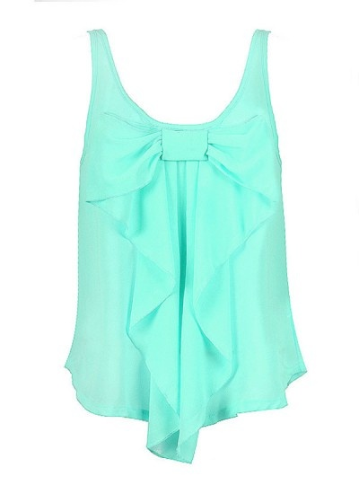 bow top: Mint Green, Cute Bows, Favorite Colors, Bows Tanks, Bows Shirts, Blue Bow, Bows Tops, Mint Bows, Colors 3