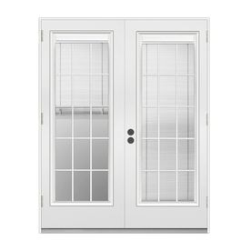 70 best outswing images on pinterest entrance doors entry doors reliabilt blinds between the glass primer white steel french outswing patio door planetlyrics Gallery