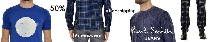 Paul Smith Jeans abbigliamento #uomo ora al 50% di #sconto  ► http://bit.ly/1OwsOct Approfitta dei #saldi e porta nel tuo armadio l'iconico stile inglese si Sir Paul.  #SpedizioneGratuita #PaulSmith #menswear #sale #fw15