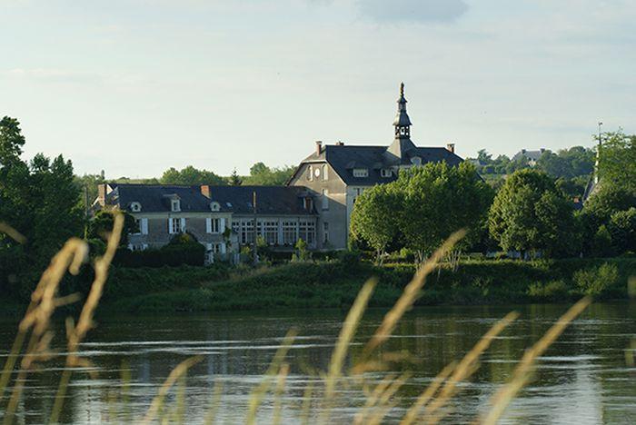 """Ile de Behuard (Maine-et-Loire), région Pays de la Loire : """"Une île sur la Loire"""""""