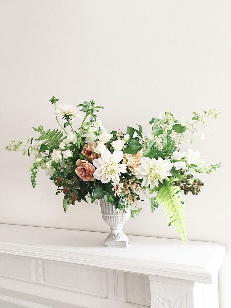 Organic Wedding Flowers with Greenery | Trille Floral