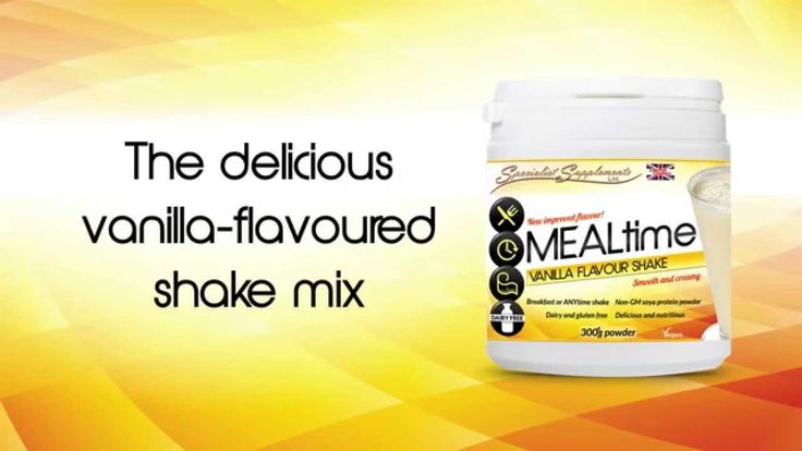 Have you tried our new and improved MEALtime (vanilla flavour) shake yet? It is now smoother and creamier than ever and the protein content has sky-rocketed to a massive 79g per 100g! All with just 88 calories per serving...