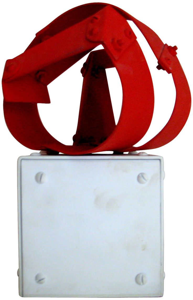 """Edgar Negret (Colombian, 1920-2012), """"Acoplamient"""", 1976, painted aluminum, unique, signed, titled and dated"""