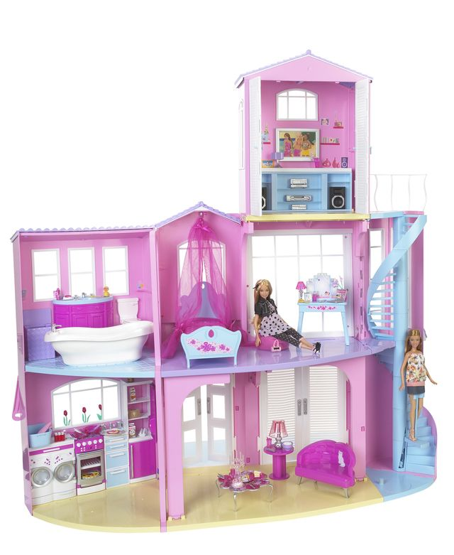 Photo Gallery - Famous Toy Patents: 2008 Barbie 3-Story Dream House