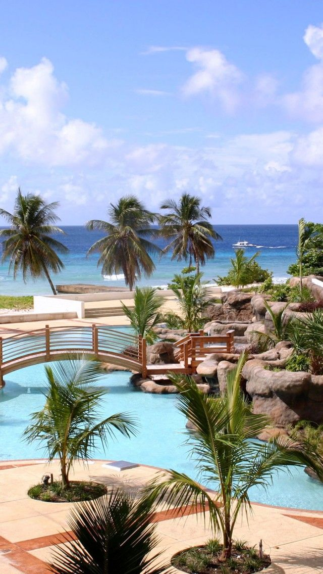 HILTON BARBADOS Cruise passengers can get a day pass to spend the day at this beautiful resort #Daypass #Excursion #Cruise