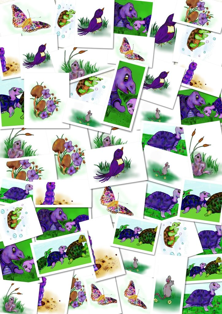 Myrtle the Purple Turtle is the first, of I hope will be many, children's books in the Weaverback Press stable. I'll tell you more about Weaverback soon. This is a very special story, and is…