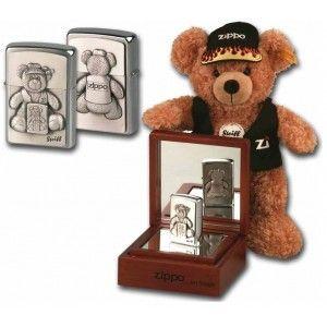 "Mechero Zippo MD 251735 ""Steiff"" Ted teddy."
