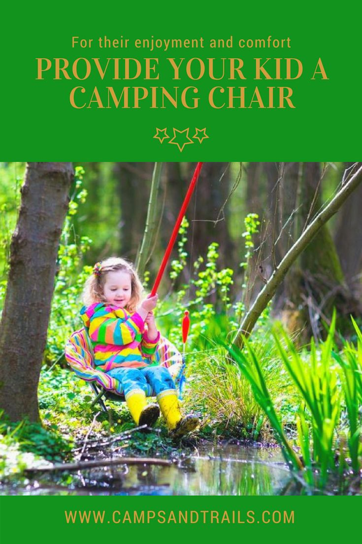 Best Kids Camping Chairs In 2018