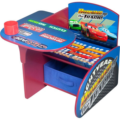 Disney Cars Desk & Chair with Storage Bin