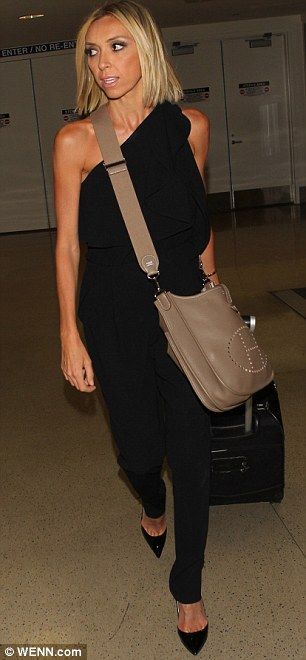 Jet set: The star was later spotted at LAX...