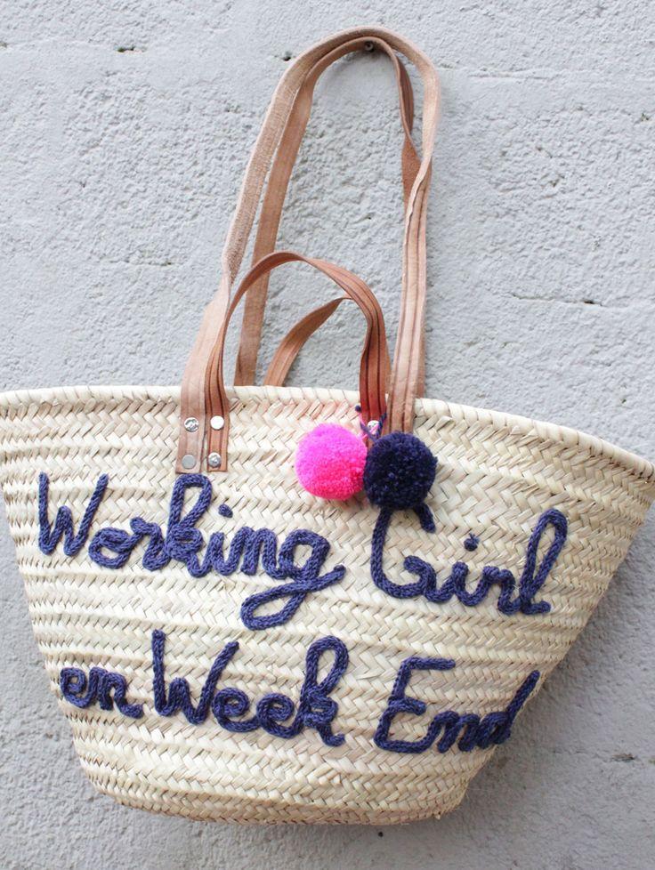 L'atelier Des Petites Bauloises: Panier Working Girl en WE