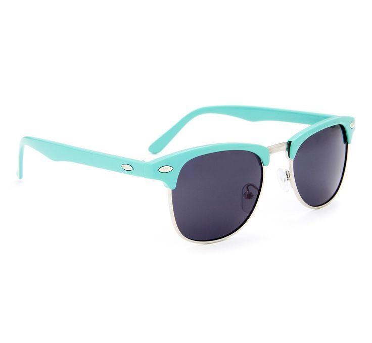 Turquoise Sunglasses.