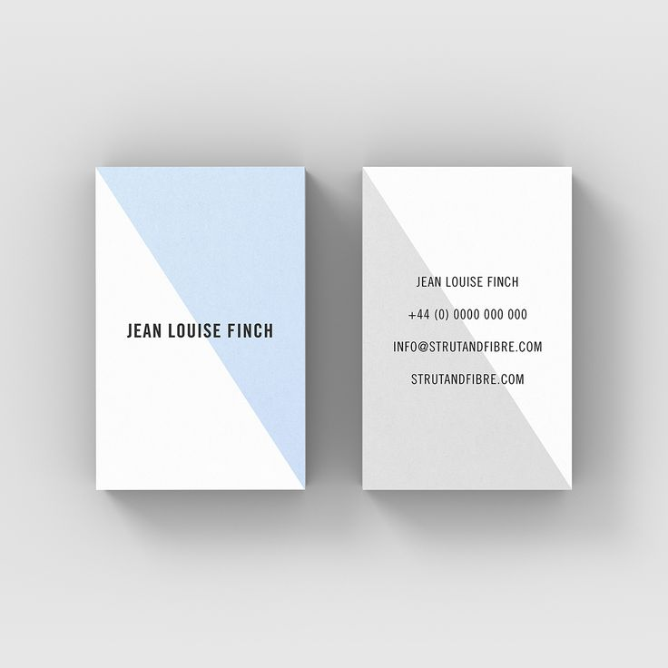 Finch – one of our Contemporary business card templates available to customise and order on our site.