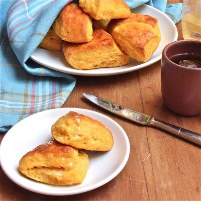 Sweet Potato Biscuits with Honey and Coconut Oil - The Wimpy Vegetarian