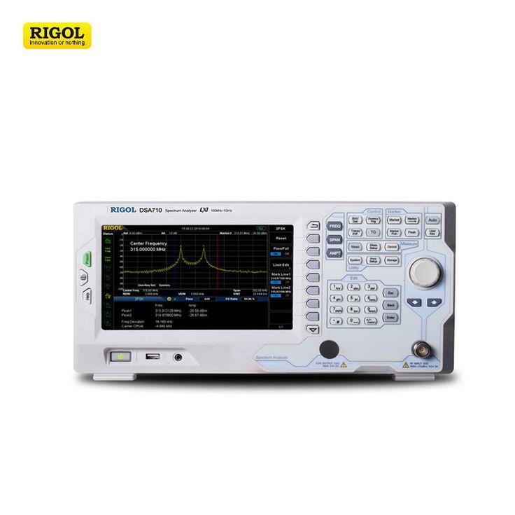 RIGOL DSA710 digital spectrum analyzer 100kHz~1GHz 8'' color display