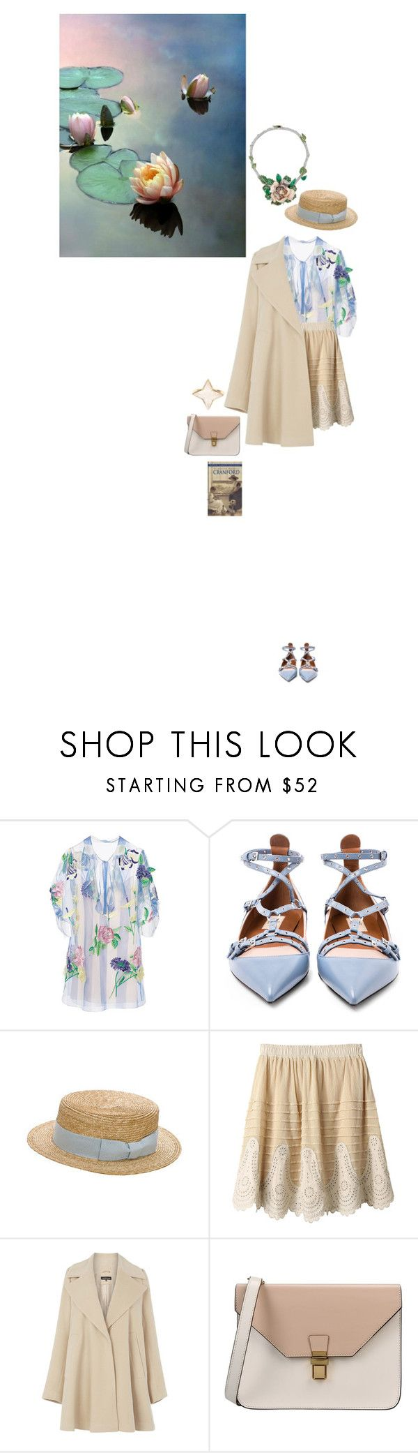 """""""Летние мысли"""" by anya-moscow ❤ liked on Polyvore featuring Blumarine, Valentino, Anthony Peto, Warehouse, 8 and Theodora Warre"""