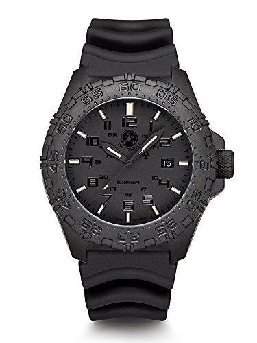 Praetorian SOCOM Phantom - Diver Armband - H3 Tritium Uhr - Trigalight - http://uhr.haus/praetorian/praetorian-socom-phantom-diver-armband-h3-uhr