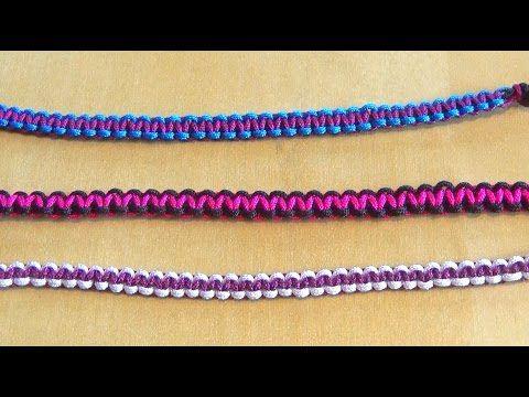 59 best bracelet br silien et autres tutos images on pinterest - Macrame pour debutant ...