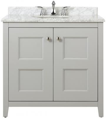 """$719. Love this but not avail until 2/13. Union Square 36""""W Single Vanity"""