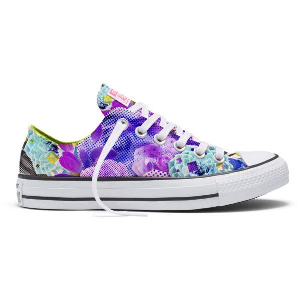 Converse Women's Chuck Taylor All Star Digital Floral Print Ox sale $49. Shoe.me