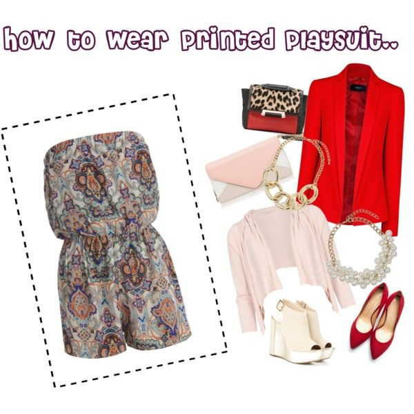 How to wear printed playsuit #howtowear #playsuit #paisley