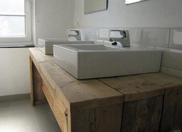 28 best images about badkamer inspiratie on pinterest toilets tes and pallet wood - Badkamer meubel model ...