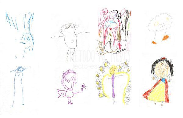 Evolución del dibujo. Infantil
