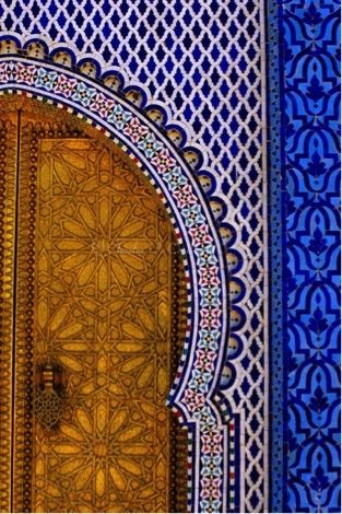 Morrocan tiles #doors  **simply stunning... Visit us: 3049 South LaCienega Blvd Culver City, CA 90232 Our Hours: M-F 9:00-5:00, Sat 9:30-4:00 Call us: 310-842-3842 Email us: info@BerbereImports.com Online: http://www.berbereworldimports.com/about-us/