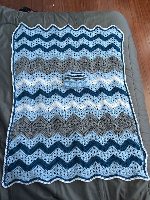 How To Crochet 6 Day Kid Blanket
