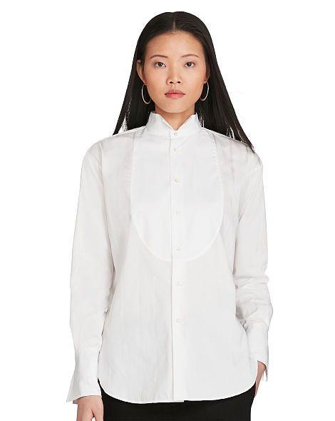 Polo Ralph Lauren Camicia da smoking a righe - Polo Ralph Lauren Maniche lunghe - Ralph Lauren France