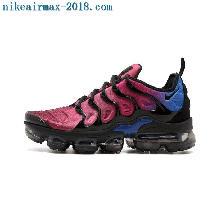 bada4230a97c9 ... australia 2018 nike air vapormax plus mens sneakers hyper violet red  blue black 857d7 99890