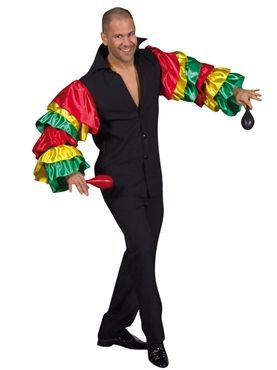 Rio Carnival Shirt by Fancy Dress Ball