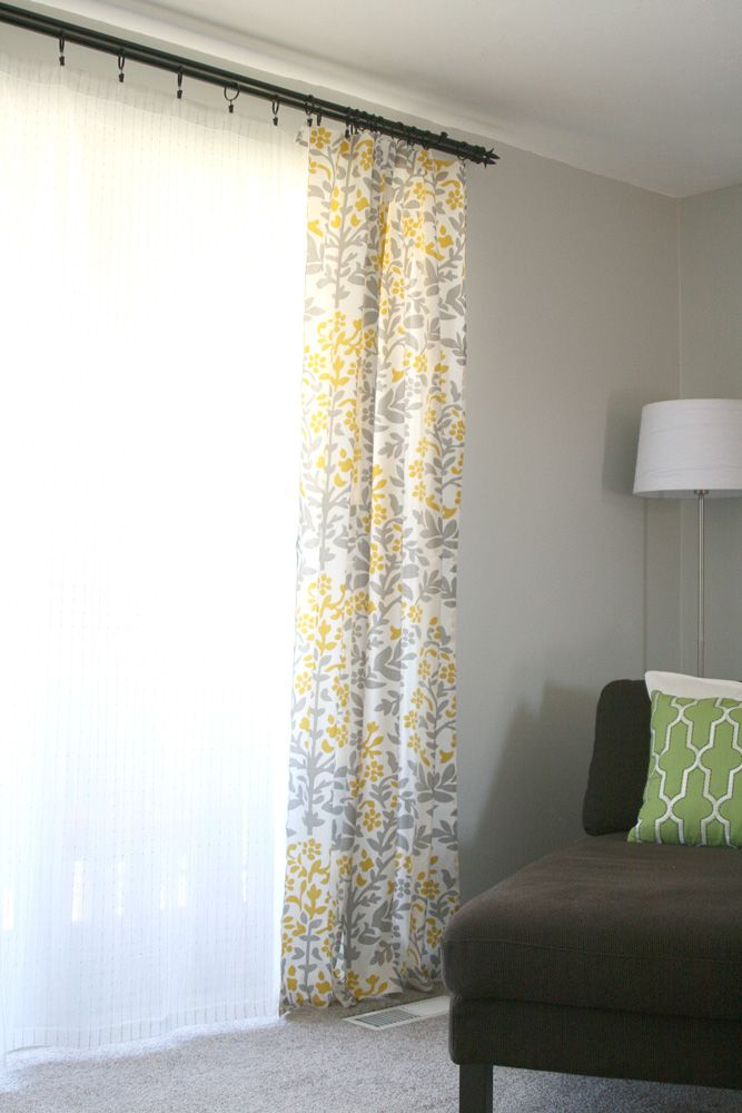 lemon squeezy diy curtains made from table cloths or sheets