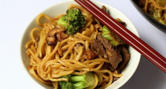 Beef Chow Mein #recipe - skip the takeaway! A quick and simple #noodle recipe is great to cook up as a mid-week meal.