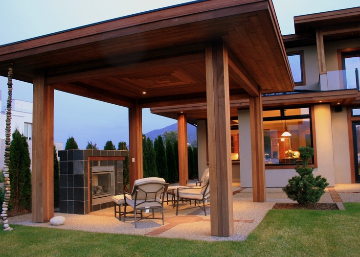 exterior homescapes. creates a warm, comfortable enviroment. located in summerland, british columbia. supplied by kayu canada inc. built homescapes building \u0026 design. exterior