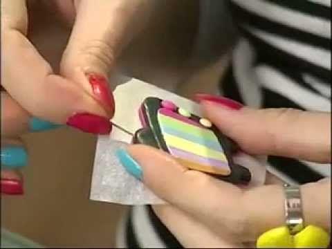 ▶ Мастер-класс по лепке из полимерной глины ( пластики ) - YouTube