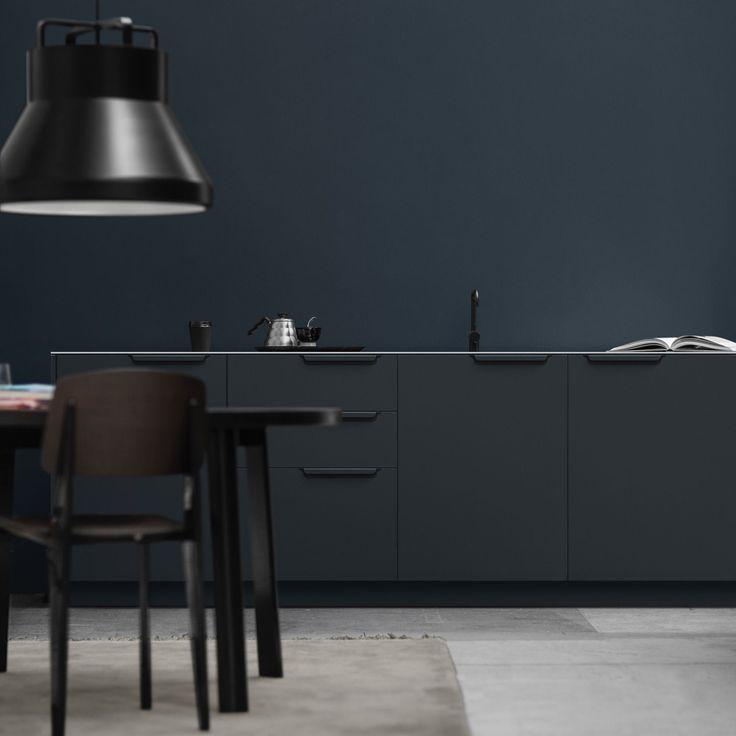 Die besten 25+ schwarzes Küchendekor Ideen auf Pinterest - drahtkörbe für küchenschränke