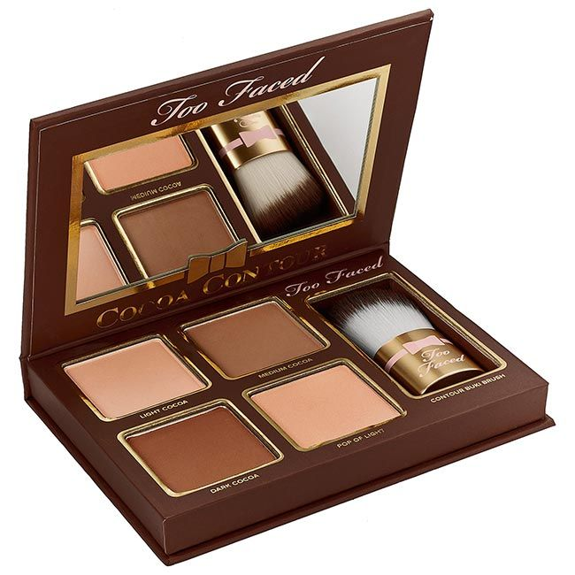 Best Contouring Products: Too Faced Cocoa Contour Palette  #contouring #makeup #shopping