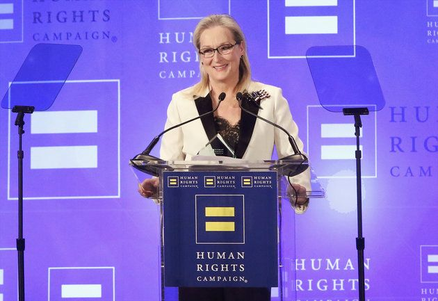 Meryl Streep Addresses Donald Trump's 'Over-Rated' Tweet In Moving Speech | The Huffington Post
