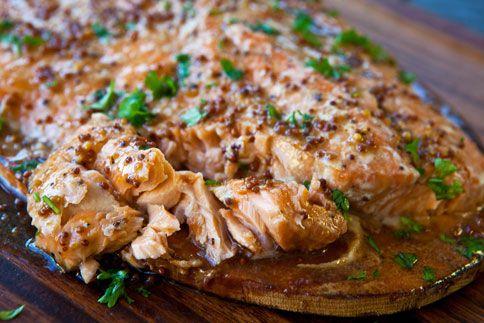 Slow cooker: Cedar Plank Salmon: Healthy Slow Cooking, Cedar Planks, Slow Cooking Recipes, Crock Pots, Crockpot Salmon, Slow Cooker Recipes, Crockpot Recipes, Healthy Recipes, Salmon Recipes